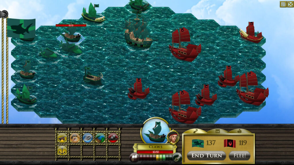 Pirate Code - Turn-Based Combat