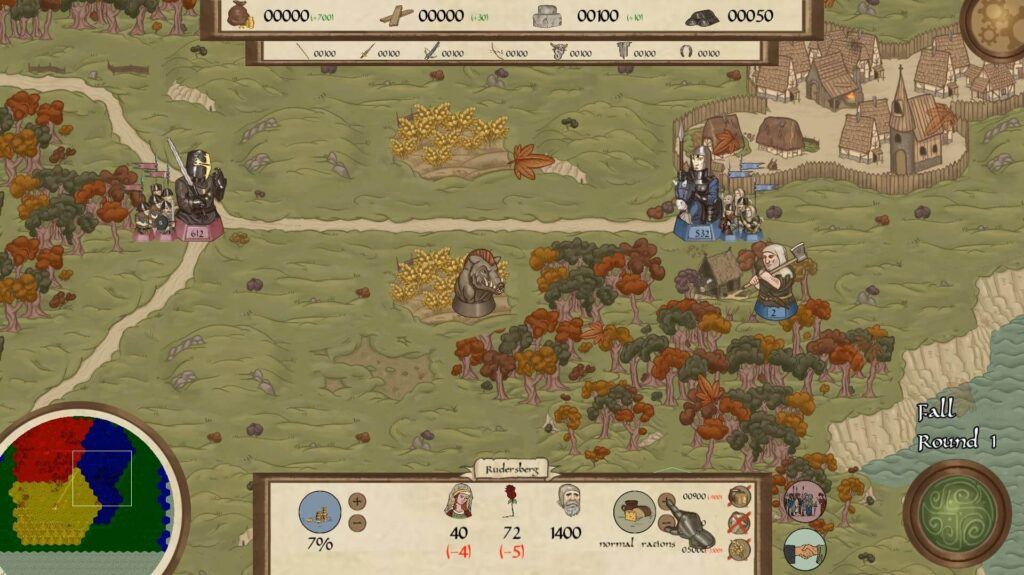 Rising Lords turn-based strategy game