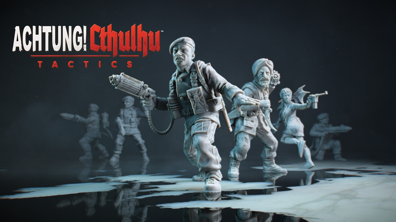 Achtung! Cthulhu Tactics gameplay