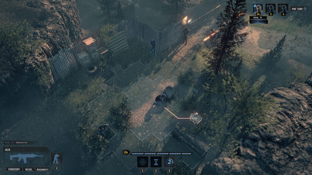 End State Turn-based tactical Pc game
