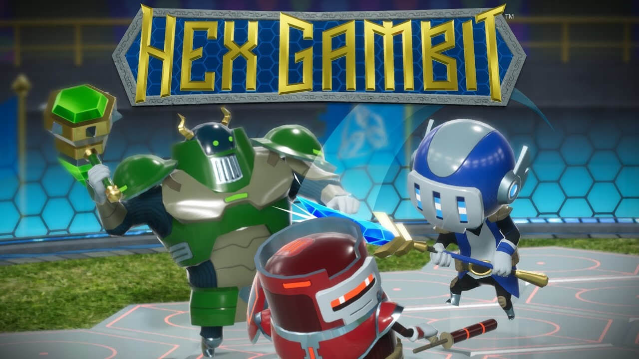 Hex Gambit multiplayer turn-based tactical game