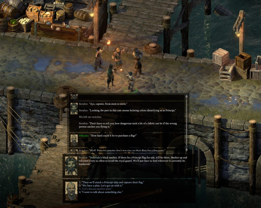 Pillars of Eternity II: Deadfire (with turn-based combat
