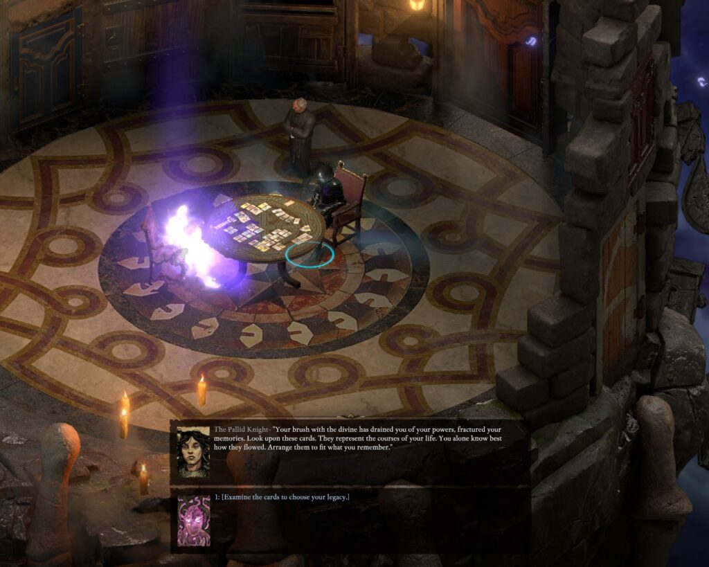 "According to the intro, losing a part of your soul caused partial amnesia. That's how authors tried to make the game more natural for the new player. However, they didn't a good job with the idea. Many dialogs don't account for ""I don't know what a hell is going on here"" option and require you to guess. Or play the original PoE."