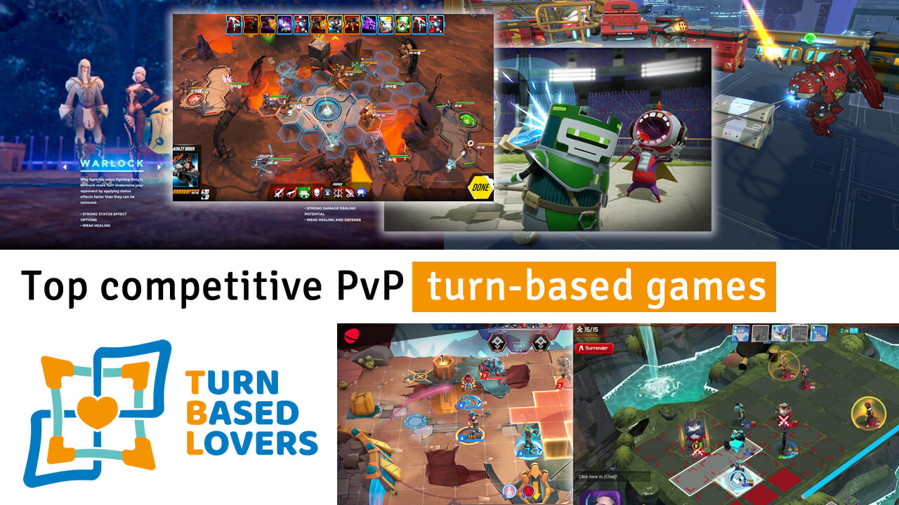 Top competitive PvP turn-based games | Turn Based Lovers