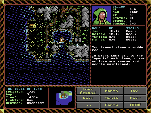 SKALD - Turn-based RPG