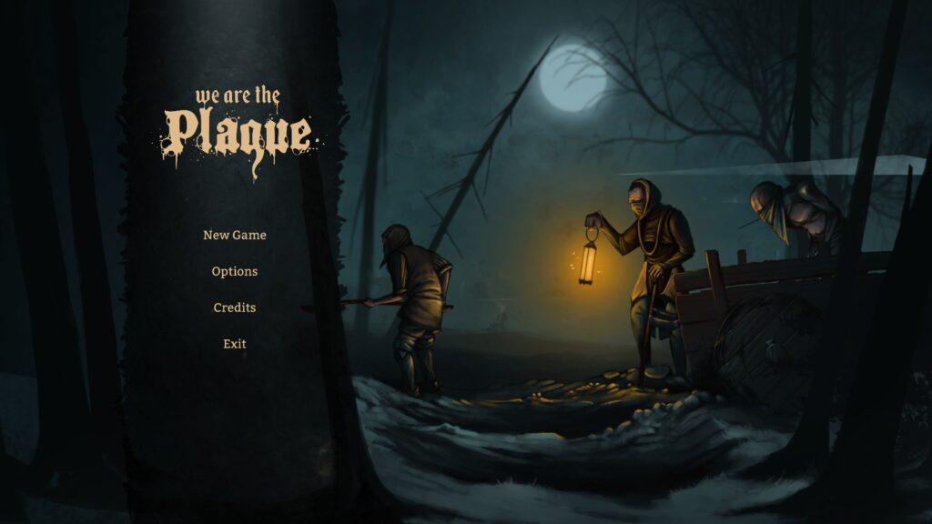 We are the Plague Main menu