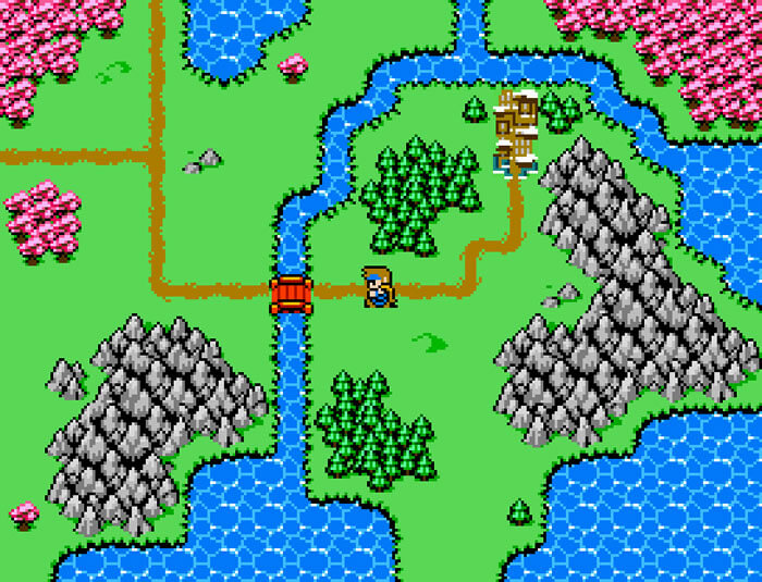 8-bit Adventures 2 Worldmap
