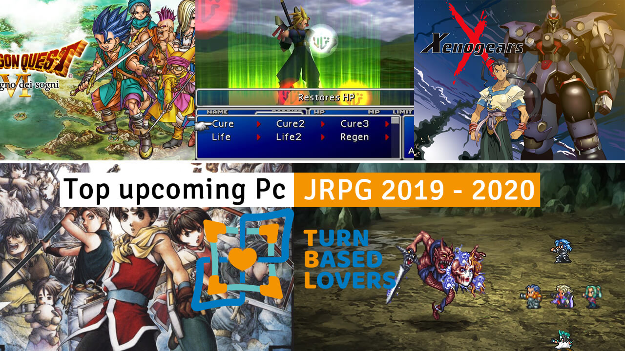 Top Steam Games 2020.Upcoming Pc Turn Based Jrpg 2019 2020 Turn Based Lovers