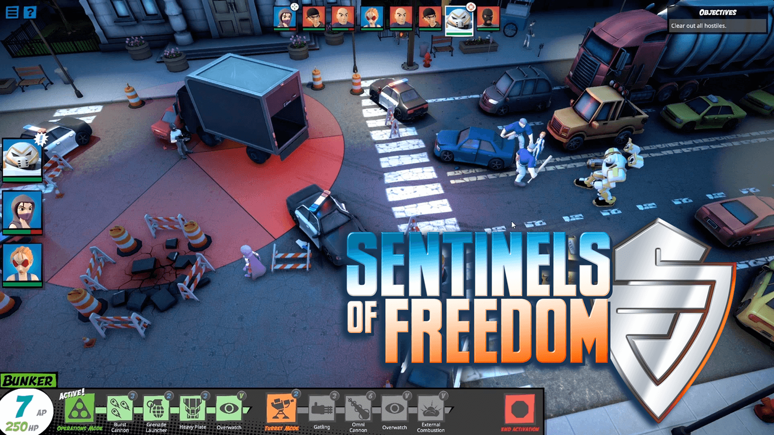 Sentinels of Freedom Pc Game