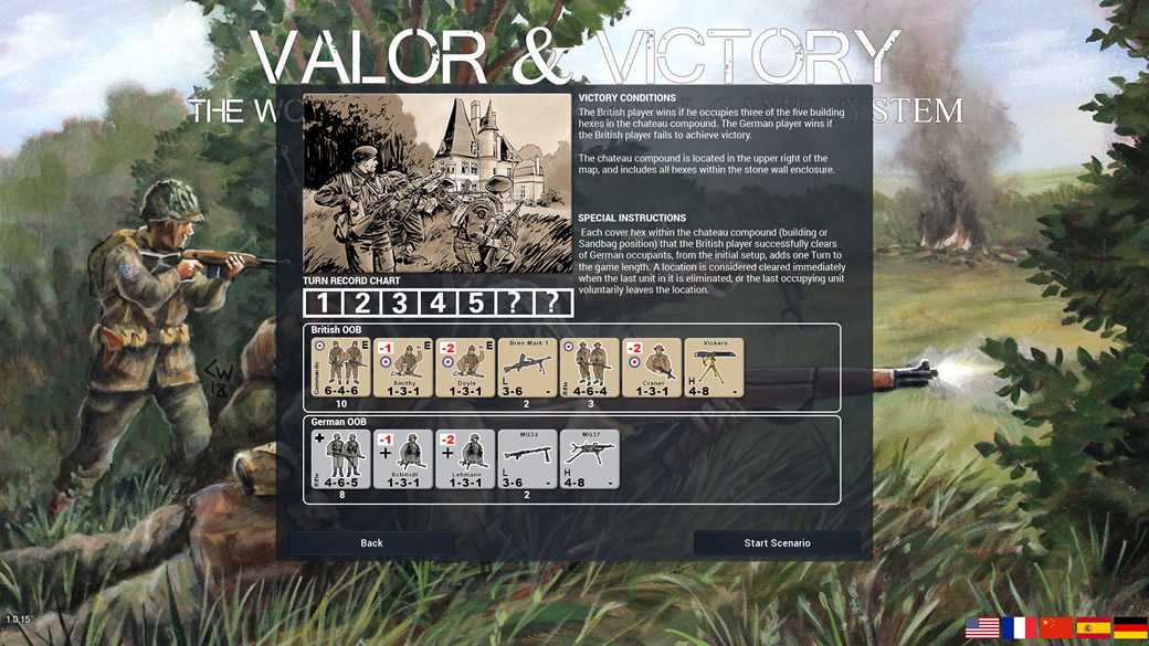 Valor & Victory Turn-based Pc Game