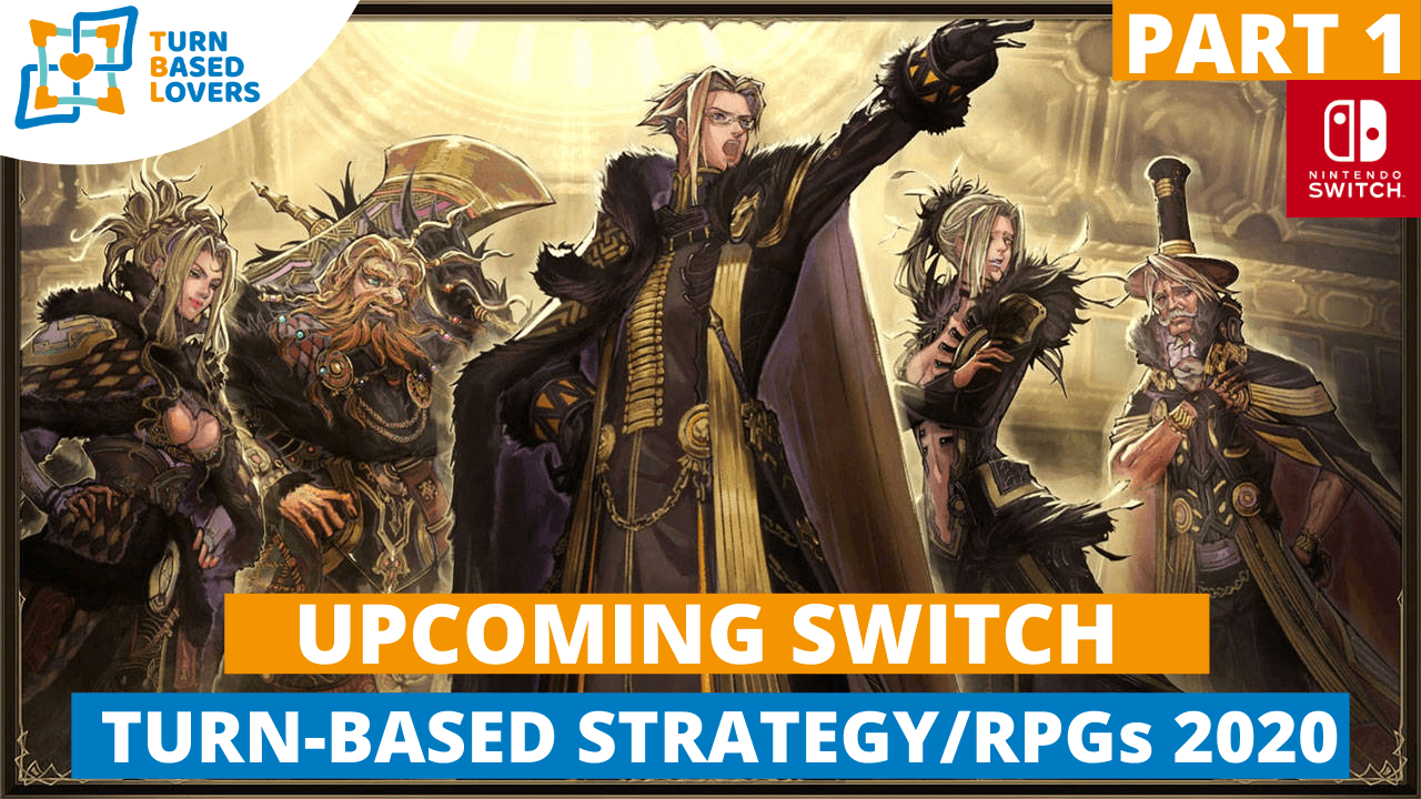 Upcoming Switch Turn-Based RPGs 2020 - Part 1