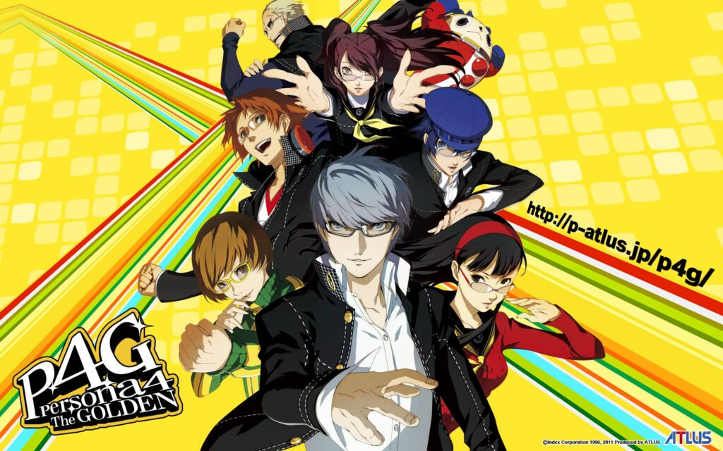 Persona 4 Golden review header