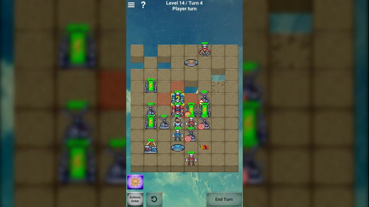 Droid Mania: Tactical Roguelike