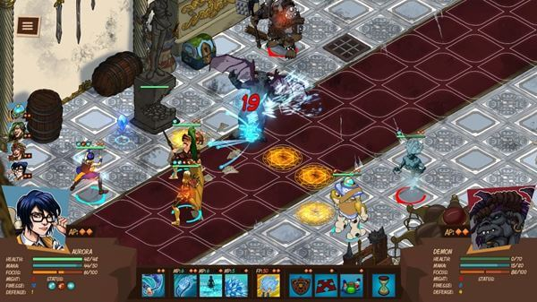 Reverie Knights Tactics Gameplay