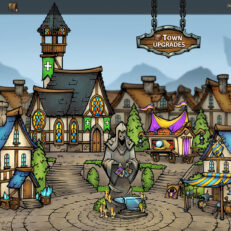 Across The Obelisk Town Upgrades